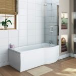 P Shaped ShowerBath Roomset Main cmyk