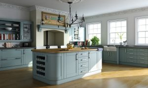 Bella Paintable Shaker Kitchen